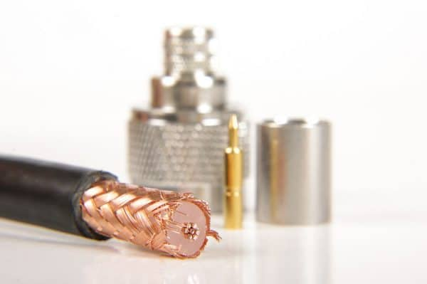 parts to build rf cable assembly