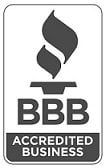 BBB Accredited Business Logo Gray